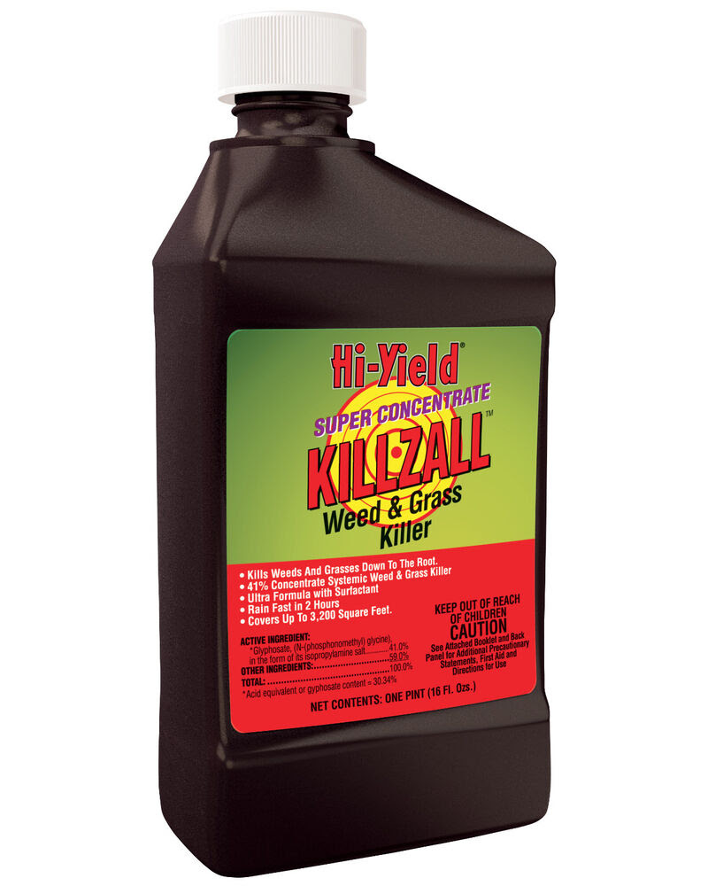 Hi-Yield Super Concentrate KillZall 16 oz weed grass ...