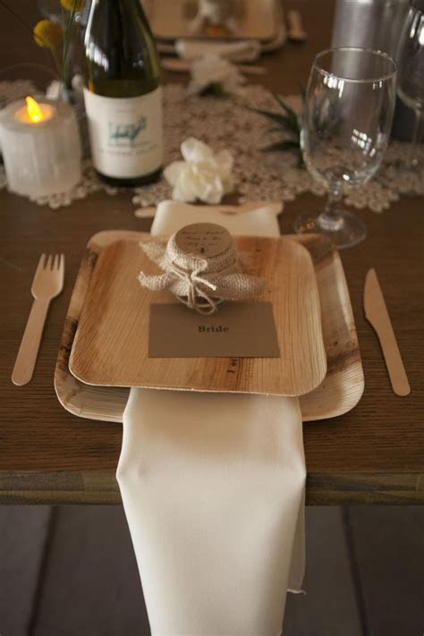 Thinking of using bamboo disposable dinnerware (NOT