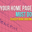 6 Things Your Home Page Must Do (to Keep from Sucking) - A Better User Experience