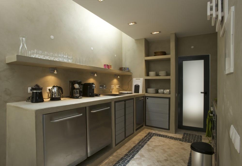 Casa camachinhos studio arte sms arquitetos tecno haus - Pared cemento pulido ...