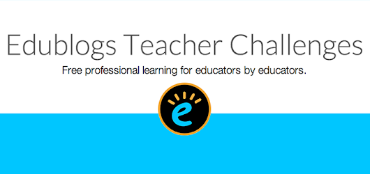 Join Us For The 2014 Edublogs Teacher Challenge!