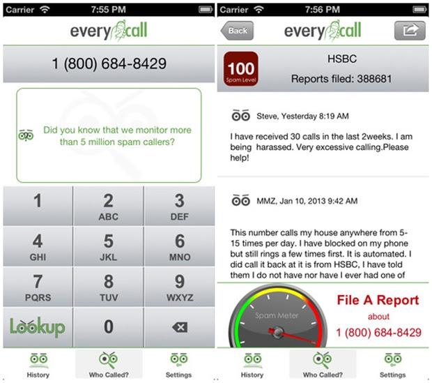 EveryCall.us Spam Lookup Tool foi desenvolvido para iPhone e iPad (Foto: Reprodução) (Foto: EveryCall.us Spam Lookup Tool foi desenvolvido para iPhone e iPad (Foto: Reprodução))