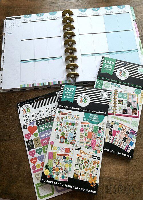 mambi stickers, planner stickers, mambi planner