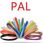 1.75mm MakerBot PETG PLA TPU Filament Printer For RepRap 2.2lb ABS 1kg 3D, 20 Color(Random Color) / PLA 5M (1.75mm Filament)