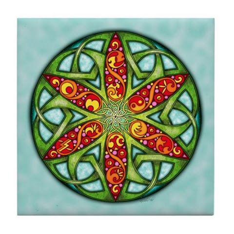 What's New at Art of FoxVox - Celtic Summer Mandala Design!