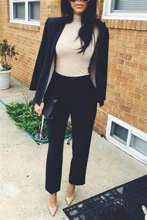 work outfits  women business  casual  stylish