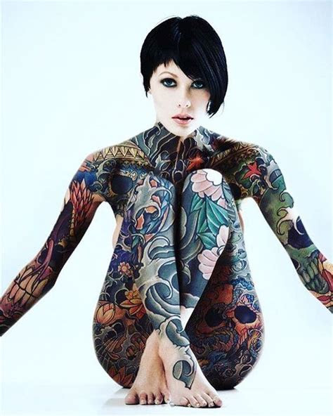 full body tattoo nude body tattoos girls