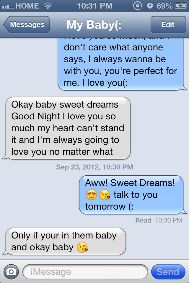 50+ Cute Long Goodnight Texts For Her - Naturesimagesart