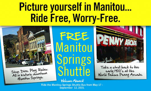 Manitou Springs FREE Summer Shuttle