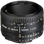 """""""Nikon AF NIKKOR 50mm f/1.8D Lens"""""""