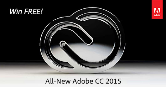 Holiday Giveaway! FREE Creative Cloud with All-New CC 2015 Tools