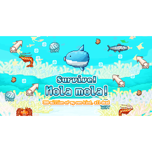 Survive! Mola mola! Official Website | SELECT BUTTON inc.