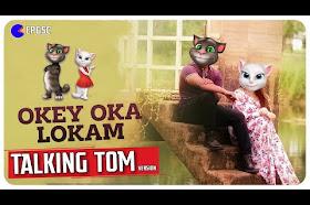 Okey Oka Lokam Song     Talking Tom & Angela Version    Telugu    HD    - EPGSK