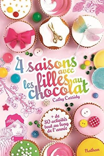 Couverture 4 saisons avec les filles au chocolat