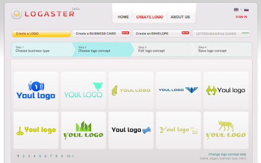 We will create a logo for you in just a few minutes | Logaster - Online Logo Generator