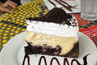 Manila - Banapple Oreo Brownie Fudge Cheesecake