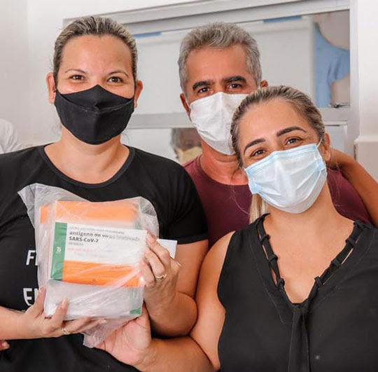 Teofilândia recebe primeiro lote de CoronaVac | Foto: Divulgação/Prefeitua