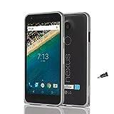 [Fitwhiny]google Nexus 5X【全8色】アルミバンパー メタルバンパーケース イヤホンジャックキャップ付き ケース カバー アルミ バンパー ホック式 ボタンスタイル 軽量 スリムケース Nexus5X ネクサス5x docomo bumper ワイモバイル(ガンメタリック) 262-8