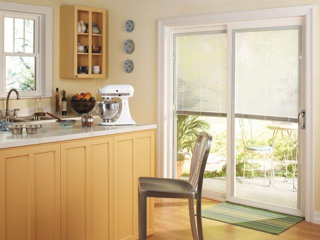 ThermaStar by Pella® Sliding Patio Door - traditional - kitchen ...
