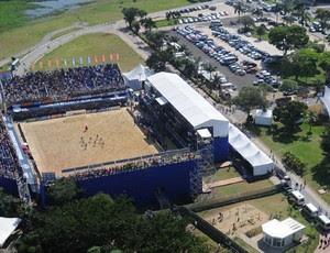 Arena Represa de Guarapiranga São Paulo II Mundialito de Clubes São Paulo (Foto: Divulgação/BSWW)