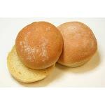 Rotellas Yellow Hamburger Bun, 4 inch - 48 per case.
