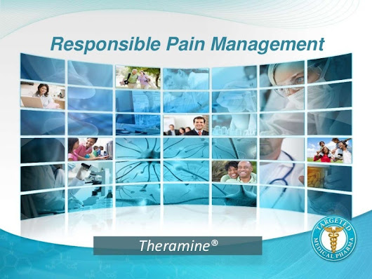 Theramine for the Management of Chronic Pain