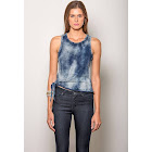 Standards & Practices Women's Mineral Washed Indigo Jersey Tank Top
