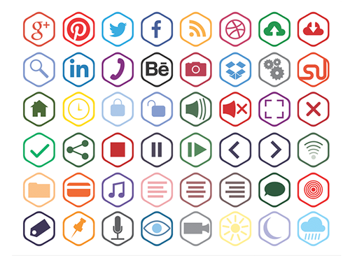 10 Free Icon Sets for Web Designers