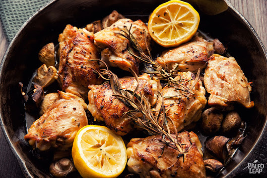 Skillet Rosemary Chicken Recipe