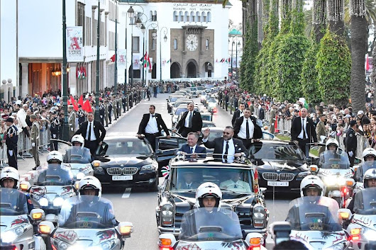In Pictures: King Mohammed VI Reserves Warm Welcome to Jordan's King Abdullah II