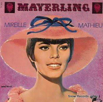 MATHIEU, MIREILLE chante mayerling
