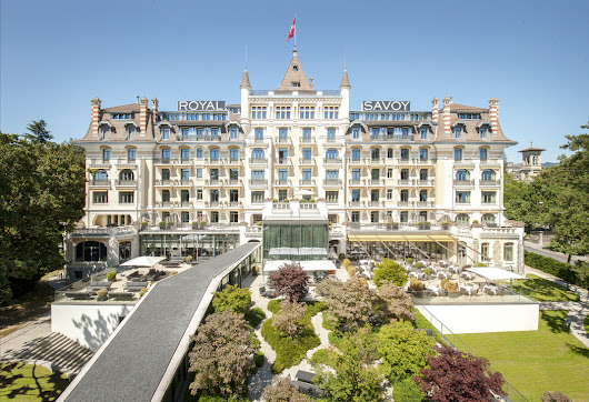 Royal Savoy Hotel, Lausanne, Switzerland - Emma Eats & Explores