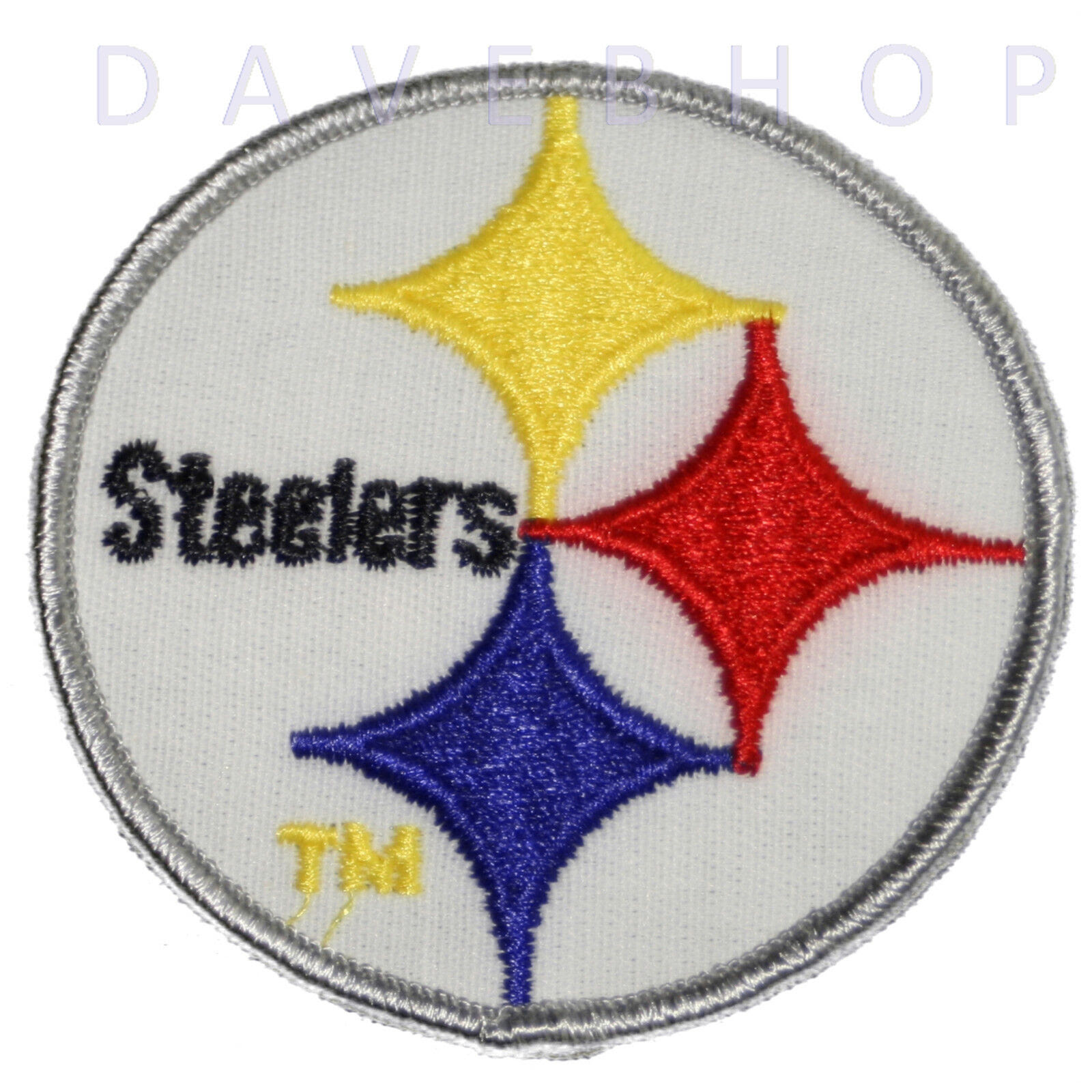 Pittsburgh Steelers Iron on Patch Sew embroidered Applique NFL TEAM LOGO AFC  eBay