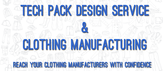 Clothing Designer | Tech Pack Designer | Clothing Manufacturer