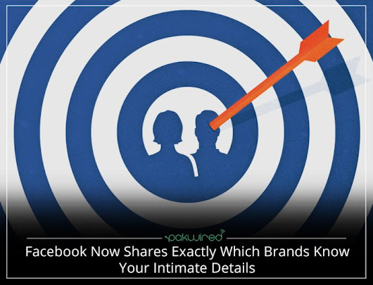 Facebook Now Shares Exactly Which Brands Know Your Intimate Details