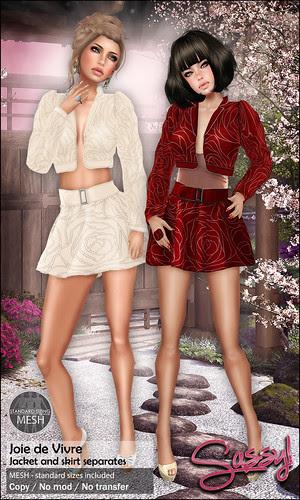 Joie de Vivre jacket and skirt
