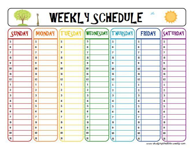 weekly schedule printable c49ec3af3597bd729c85c5e060d202a5 summer schedule weekly schedule GdNKer