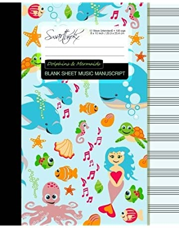 DiPalo Music Manuscript Paper Book