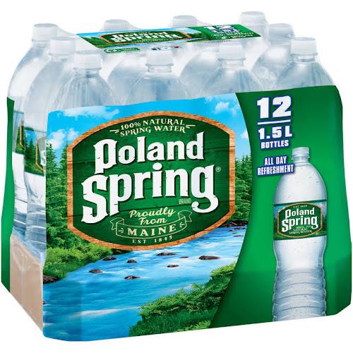 Poland Spring Water - 12 pack, 50 7 fl oz bottles - Google Express