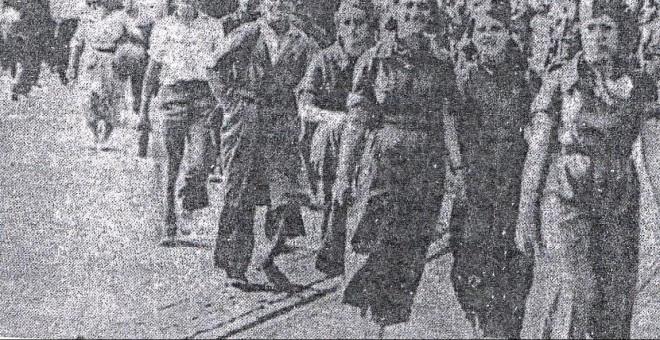 Una de las misiones que Durruti encomendó a Arnal fue devolver a Barcelona a las milicianas y las mujeres que estaban con la columna.