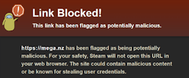 Steam Censors MEGA.nz Links in Chats and Forum Posts - TorrentFreak