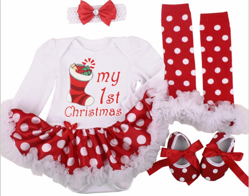 Tanie Christmas Baby Costumes Cloth Infant Toddler Girls First Outfits  Newborn Romper Clothing Set Birthday Gift Cena ~ jackju4182 1455b177f