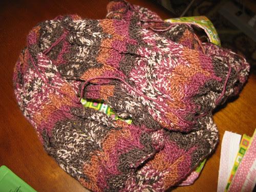 earthy scarf