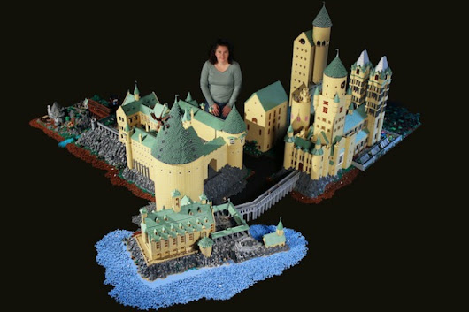 A Lego Hogwarts that's not to be believed - Cool Mom Picks