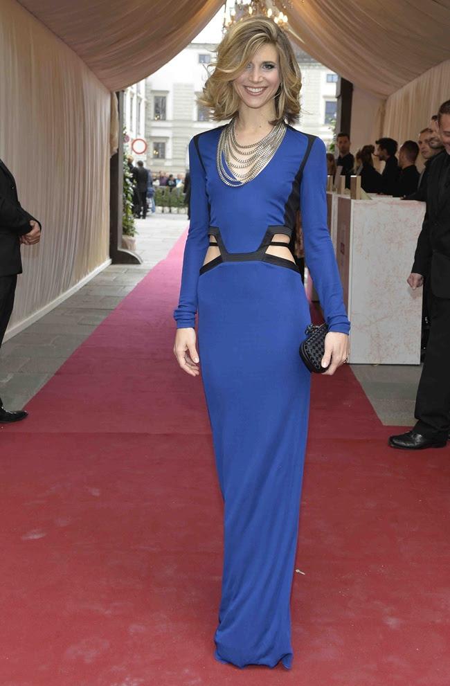 3 Nicoletta Romanoff in Roberto Cavalli@Life Ball 2013 Gala Dinner