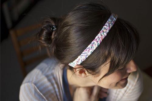 woven headband on 3