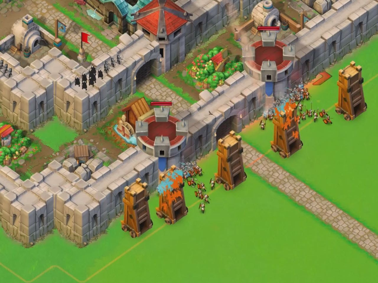 Castle siege age of empires how to beat historical challenge - Age Of Empires Castle Siege