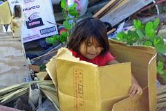 Belizean Girl Plays in the Dump