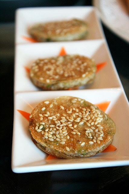 Pan-fried Fish Pancake with Parsley