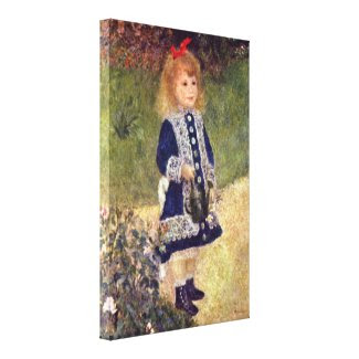 Pierre-Auguste Renoir - Girl with Watering Can Canvas Prints